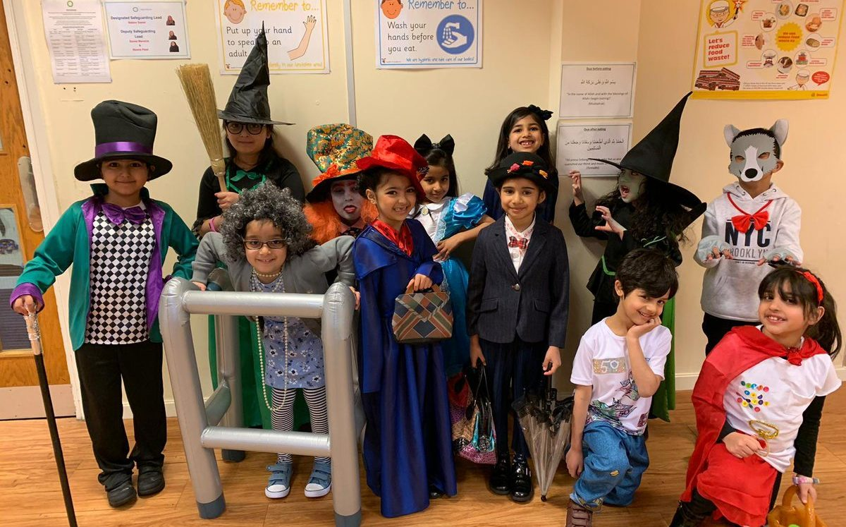 Children celebrate the wonder of words for World Book Day